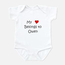 Cute My name owen Infant Bodysuit