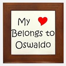 Oswaldo Framed Tile
