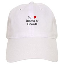 Cute My heart belongs oswaldo Baseball Cap