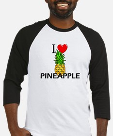 I Love Pineapple Baseball Jersey
