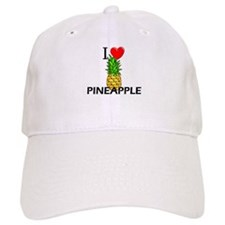 I Love Pineapple Baseball Cap