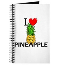 I Love Pineapple Journal