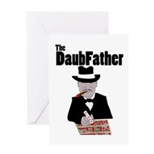 The DaubFather Greeting Card