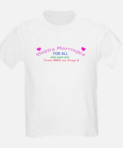 Happy Marriages for all 4 T-Shirt