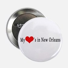My Heart's in New Orleans Button