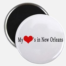 My Heart's in New Orleans Magnet