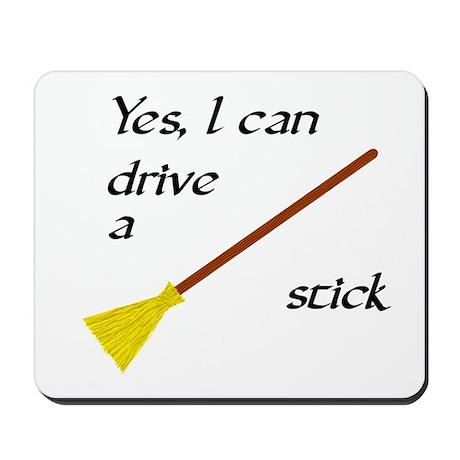 Drive a Stick Mousepad