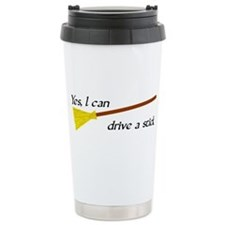 Drive a Stick Travel Mug
