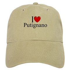 """I Love (Heart) Putignano"" Cap"