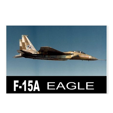 F-15A EAGLE Postcards (Package of 8)