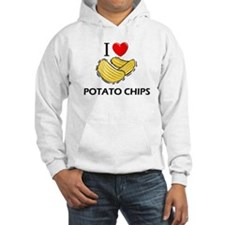 I Love Potato Chips Hoodie