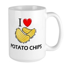 I Love Potato Chips Mug