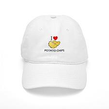I Love Potato Chips Baseball Cap