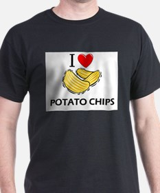 I Love Potato Chips T-Shirt