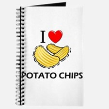 I Love Potato Chips Journal