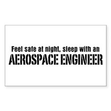 Feel Safe with an Aerospace Engineer Decal