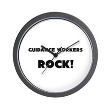 Guidance Workers ROCK Wall Clock