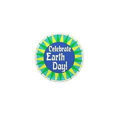 Celebrate Earth Day (10 Mini Buttons)