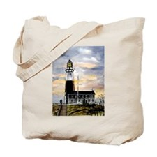 Montauk Point lighthouse New Tote Bag