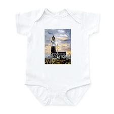 Montauk Point lighthouse New Infant Bodysuit