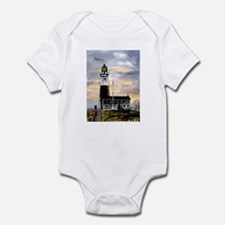 Montauk Point lighthouse New Infant Bodysuit