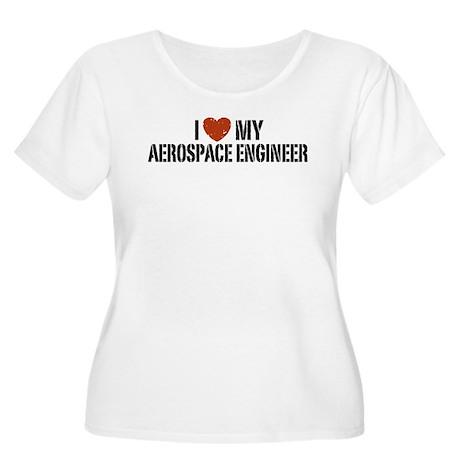 I Love My Aerospace Engineer Women's Plus Size Sco