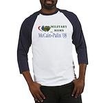 Military Moms for McCain Palin Baseball Jersey