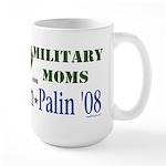 Military Moms for McCain Palin Large Mug