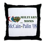 Military Moms for McCain Palin Throw Pillow