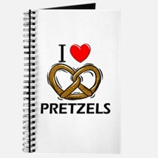 I Love Pretzels Journal