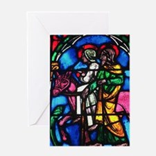 Flight to Egypt ds for Christmas Greeting Card