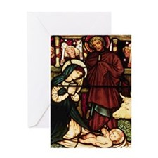 Nativity Christmas Card w Scripture