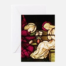 Annunciation Christmas Card w Scripture
