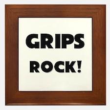 Grips ROCK Framed Tile