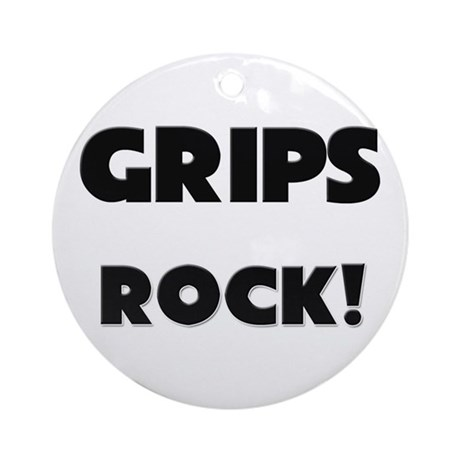 Grips ROCK Ornament (Round)