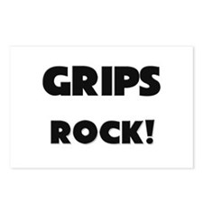 Grips ROCK Postcards (Package of 8)