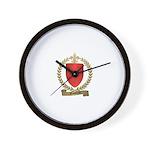 GAUTREAU Family Crest Wall Clock