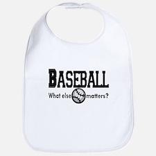 Baseball, what else matters? Bib