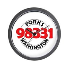 Forks 98331 Wall Clock