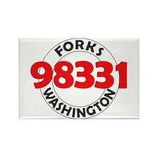 Forks 98331 Rectangle Magnet