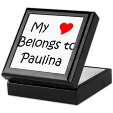 Unique Paulina Keepsake Box