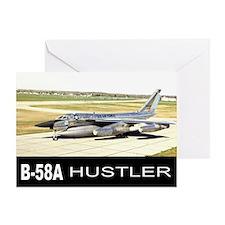 B-58 HUSTLER Greeting Card