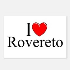 """""""I Love (Heart) Rovereto"""" Postcards (Package of 8)"""
