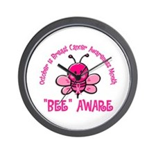 Breast Cancer Awareness Month 4.2 Wall Clock