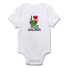 I Love Salads Infant Bodysuit