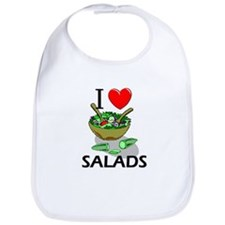 I Love Salads Bib