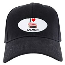 I Love Salmon Baseball Hat