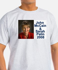 Sarah Palin Picture McCain Palin 08 T-Shirt