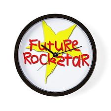 Future Rockstar Wall Clock