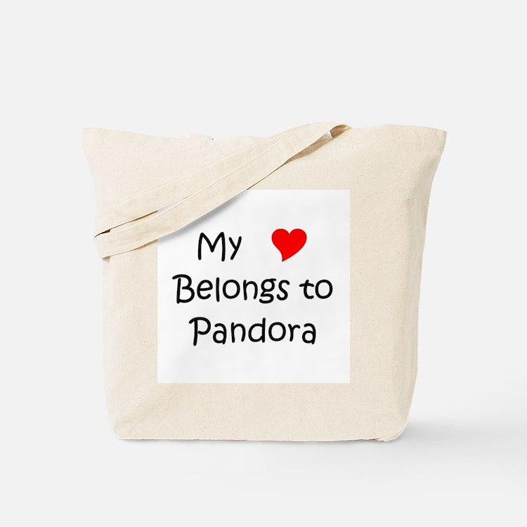 Cute Pandora Tote Bag